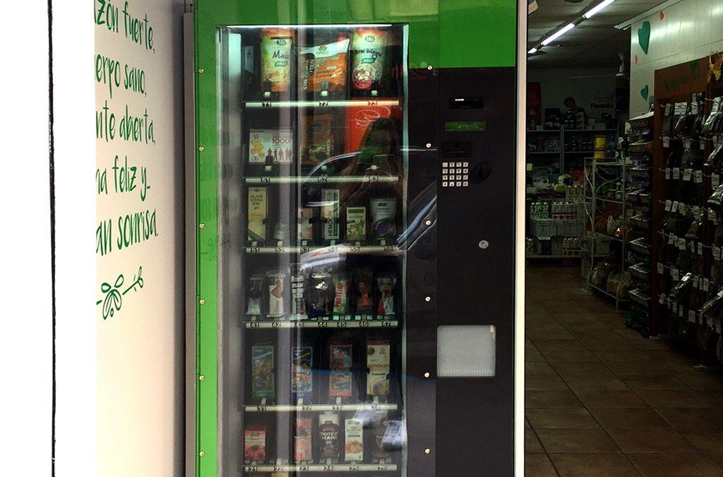 Escaparate Vending Arbolario. Tot Natural.