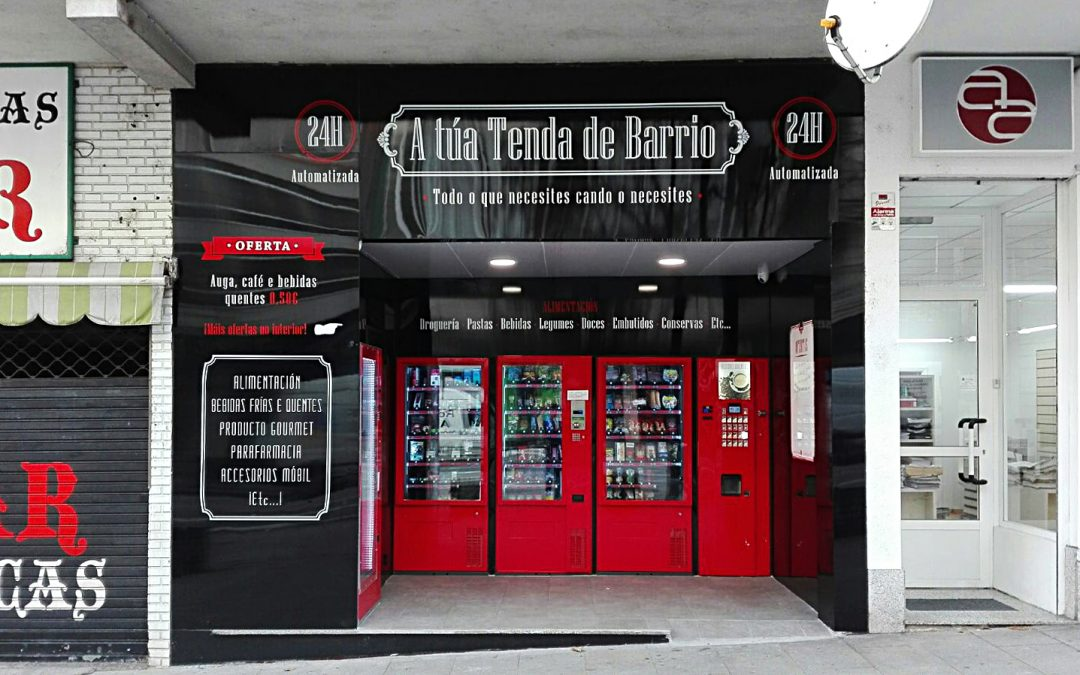 Preciosa tienda 24 horas en Vigo