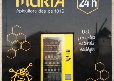 Escaparate vending Mielmuria