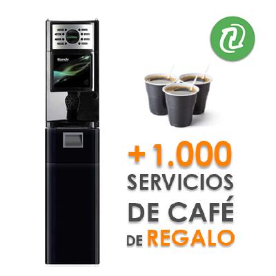 Bianchi Gaia 1000 servicios de café gratis