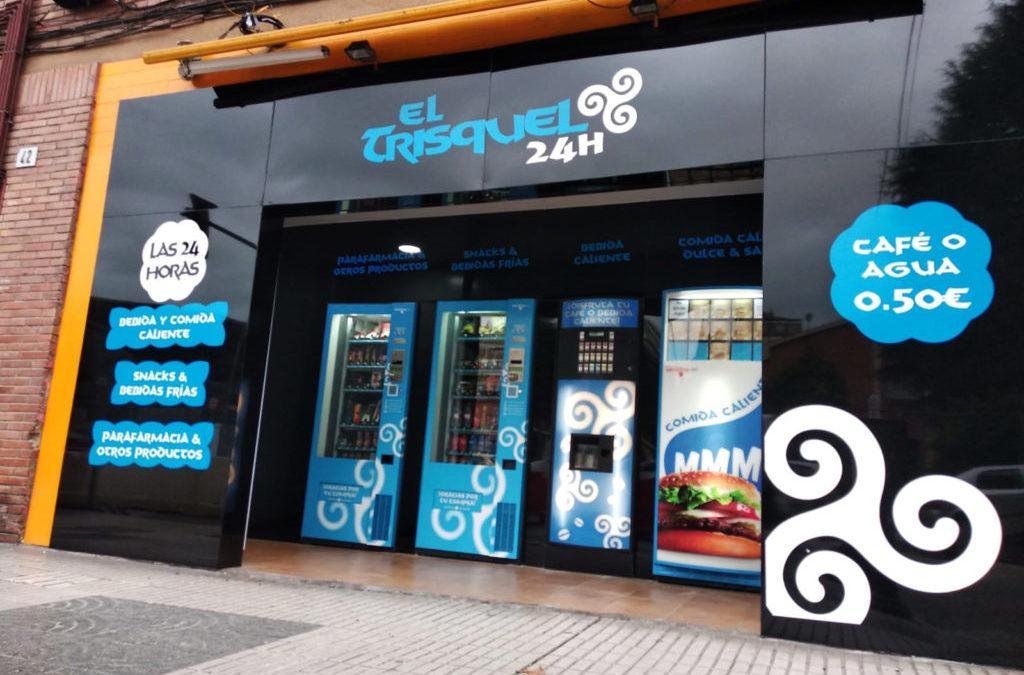 Casos de éxito: la tienda 24h modelo Smart Plus de reestreno El Trisquel en Gijón