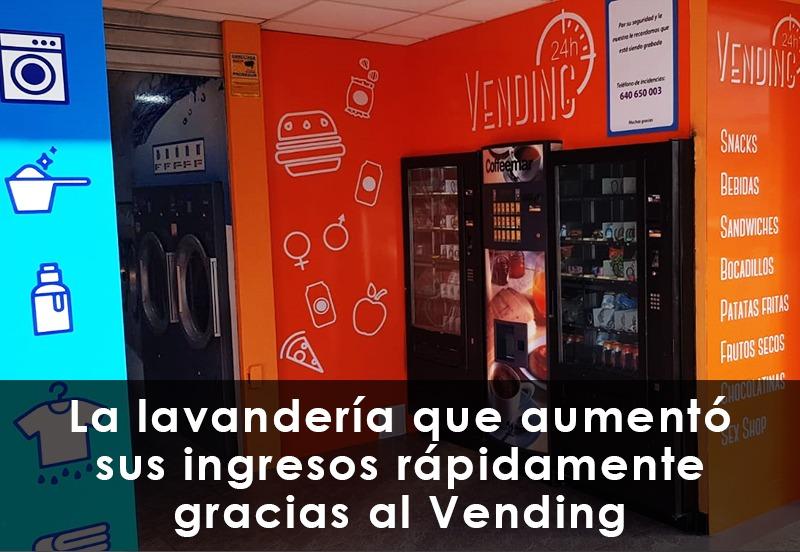 La lavandería que aumentó sus ingresos rápidamente gracias al Vending
